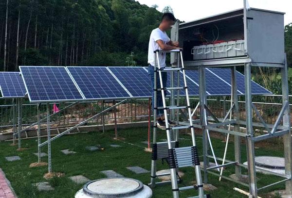 四川污水处理太阳能供电系统