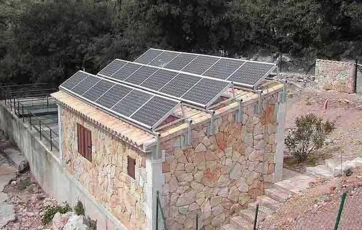 太阳能光伏离网系统