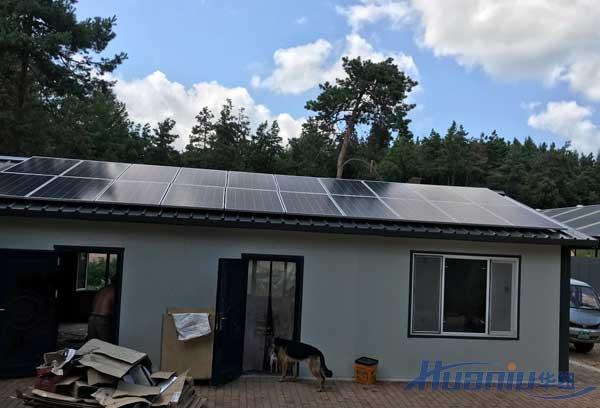 离网型太阳能发电系统如何计算电池容量和光伏板