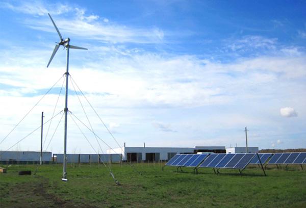 离网风光互补发电系统组成