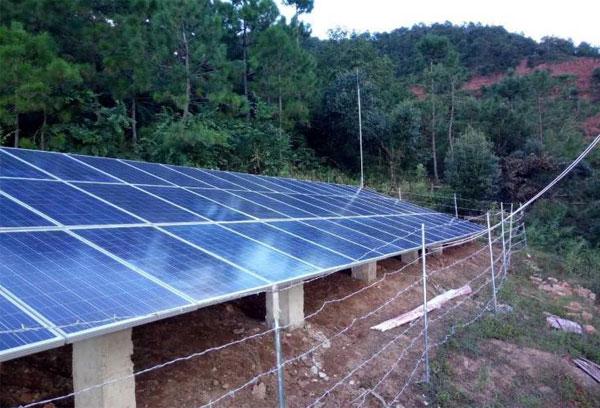 什么叫离网型太阳能发电系统
