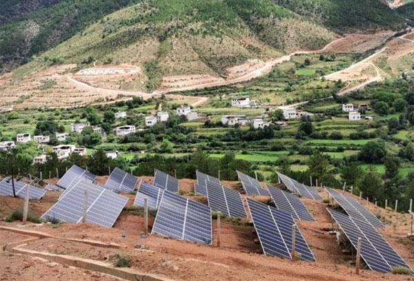 山上没电怎么解决-离网光伏发电