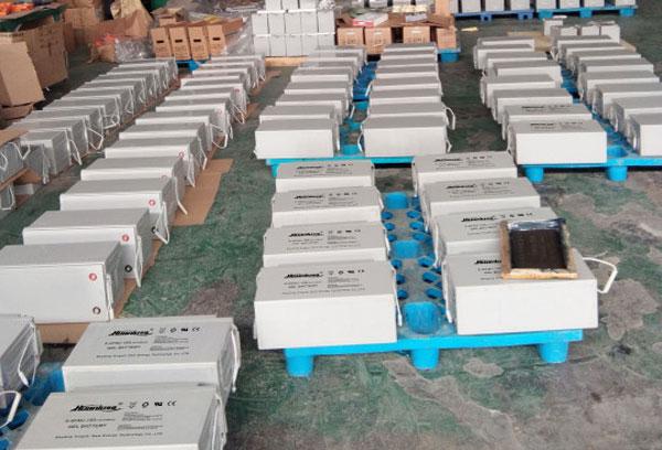 一千瓦光伏板需要多大蓄电池